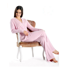 PK18A47HX Pure Cashmere Lounge and Pajama Set for Women