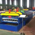 nuevo diseño 830 azulejo esmaltado hoja de techado rodillo que forma la máquina