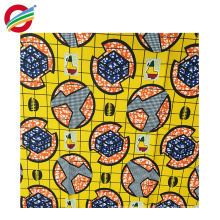 Pure polyester wax patterns african prints woven fabric for sale