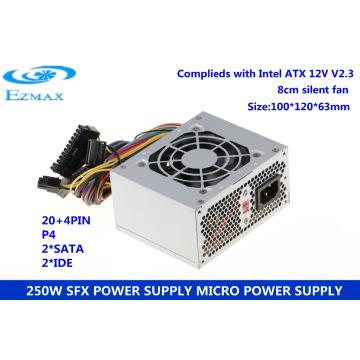 Ezmax fábrica computador fonte de alimentação smps 250w