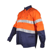 Camisas reflectantes para mineria ropa al por mayor barata