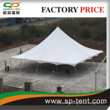 outdoor PVC peg and pole tent for trade show with waterproof cover