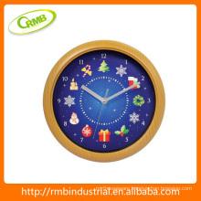 christmas wall clock(RMB)