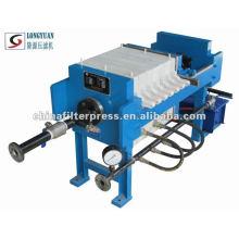 Small Manual PP Chamber Filter Press