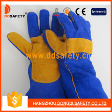 Cow Split Leather Welder Gloves Dlw627