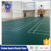 High efficient badminton court mat wholesale