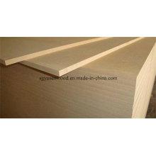3mm/6mm/12mm/18mmx1220X2440 E2 Glue Light Color Plain or Raw MDF Board
