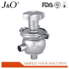 Valvula de regulação sanitária Válvula de inversão da válvula valorativa