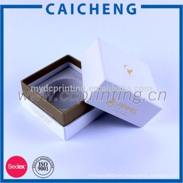 Caja de empaquetado de la cartulina de papel rígida de encargo de los cosméticos con el parte movible de la espuma de EVA