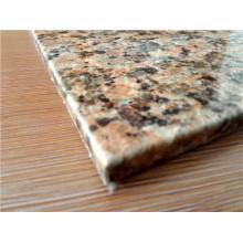Painel de sanduíche de favo de mel em alumínio de textura de pedra