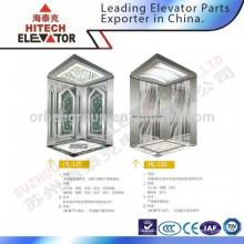 Cabine d'ascenseur de surface de miroir pour centre commercial / HL-125