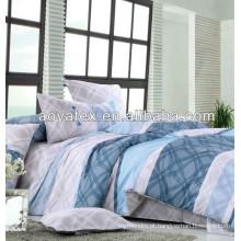 hotel de luxo impresso 3 pc por atacado lençóis de cama