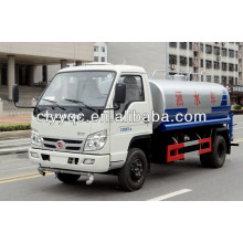 Superior FOTON watering cart 5CBM water tank water wagon for sale