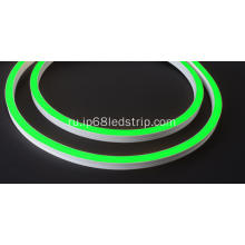 Evenstrip IP68 Dotless 1416 Green Side Bend светодиодная лента