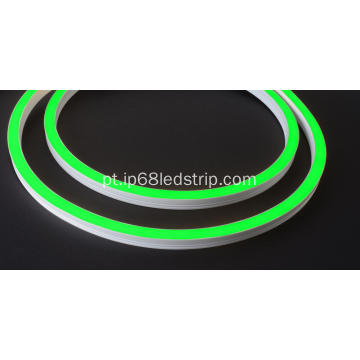 Evenstrip IP68 Dotless 1416 Green Side Bend led tira de luz