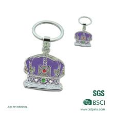 2016 benutzerdefinierte Metall Emaille Crown Keychain für Förderung