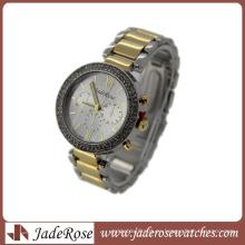 Venta caliente Marca Modelo Quartz Lady reloj de pulsera