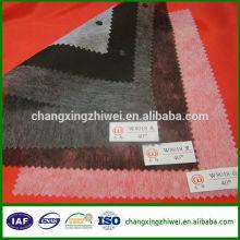 Alibaba china al por mayor de mejor calidad popular entretejido no tejido con oeko-tex100