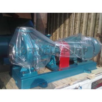 Serie RY bomba centrífuga de aceite caliente refrigerada por aire y refrigerada por aire