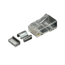 Conector RJ45 Cat.6A cable blindado