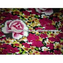 printed spun rayon fabric for women garment