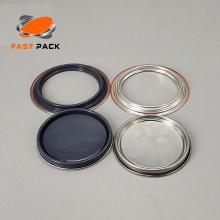 Tapón gris de 105 mm de lata normal de 1 cuarto de galón