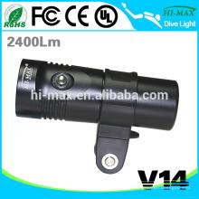 Hi-max V14 Tauchausrüstung für Tauchlampe führte Videokamera Licht