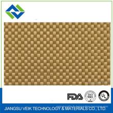 Tissu d'aramid Kevlar enduit de téflon de PTFE 1.35mm résistant à la chaleur non bâton
