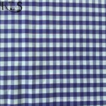 100% algodão popeline tecida de fios tingidos tecidos para camisas/vestido Rls50-2po