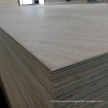 1220x2440mm Poplar Core Okoume Plywood Furniture Usage Plywood