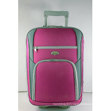Shantung Silk Fabric EVA External Trolley Bag with Matched Color