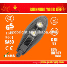 VENTE CHAUDE! prix lumière rue LED 100W, eau-produit répulsif 3 ans garantie 100W LED lampe de rue