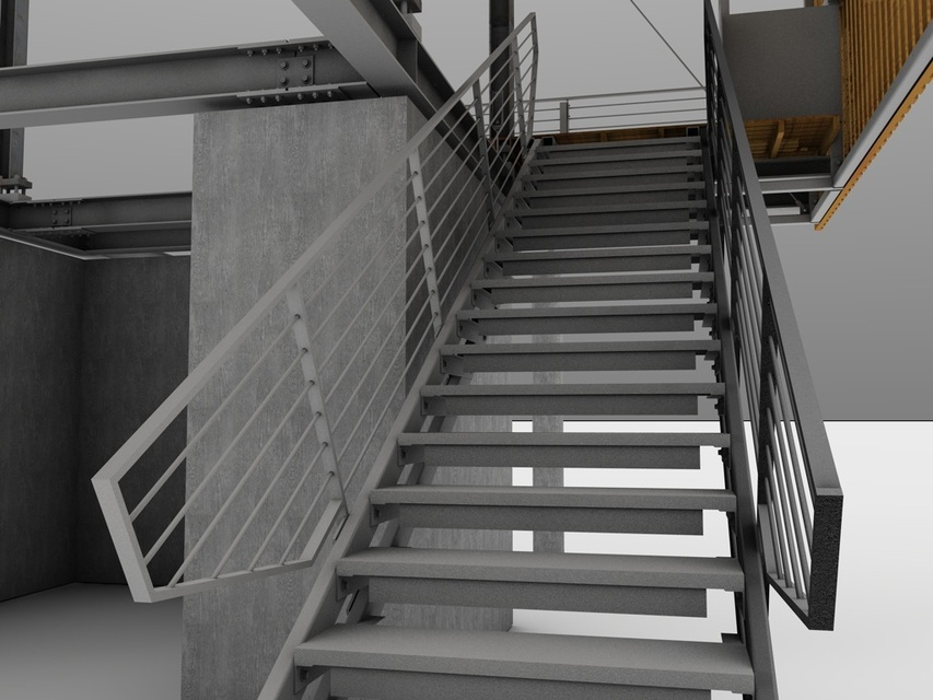Construction Shaft Stairs