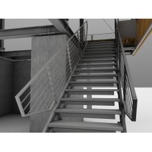 Vertical Passages in Underground Construction Shaft Stairs