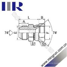 Jic Mâle / Femelle 74 Adaptateur de Tube Hydraulique de Siège (2J)