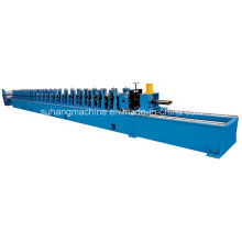 15kw Gear Box Driving PLC Control Roller Door Frame Roll Forming Machine