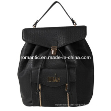 2015 Hot Sale New Style Lady Leather Handbag Backpack (N-1044)