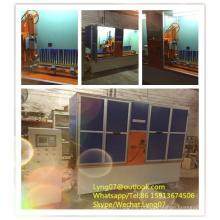 Escova industrial longa de 2 linhas centrais que faz a máquina