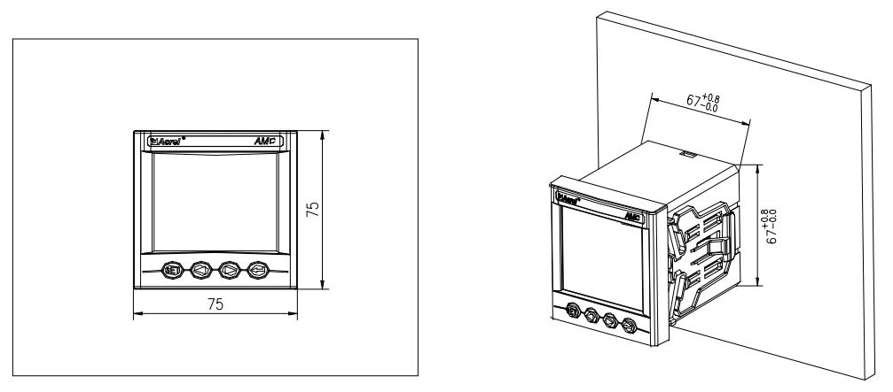 ac sub panel power meter