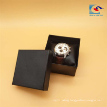 Good quality custom Cardboard Watch Paper Gift Box With Sponge Cushion