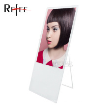 43inch portable floor standing advertising player