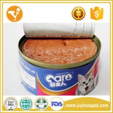 Fábrica de alimentos para gatos sabor de atún gato puede lanchas comida de gatos en lata