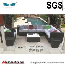High Quality Modern Design PE Rattan Sofa Set Furniture (ES-OL001)