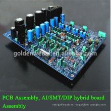 amplificador ensamblaje PCB FPCB con giro rápido ensamblaje de pcb barato