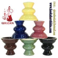 High Quality Small Hookah Ceramic Head Hookah Clay Bowl