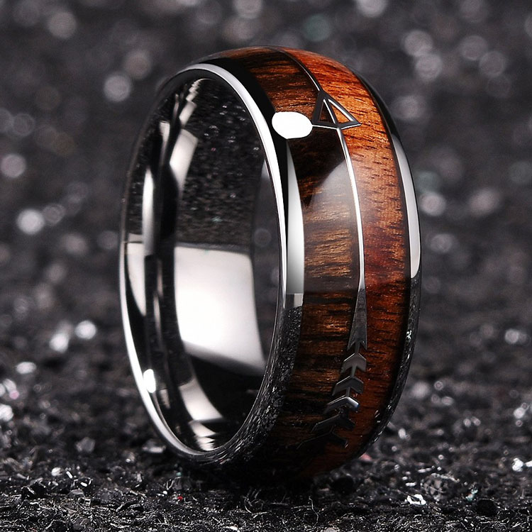 Unique Tungsten Wedding Rings