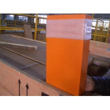 Orange Carbin para la pared del coche del elevador / naranja