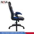Nova wholesale deep blue leather heated office gamer computer lift gaming chair