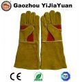 Renfort Palm Leather Protection de sécurité Gants de soudure pour soudeurs