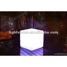 Fashion competitive LED cube table